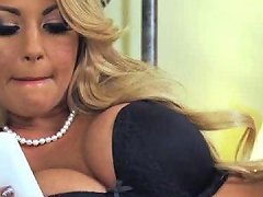 Breath Taking Blond Milf In Stockings Had Unforgettable Anniversary Fuck With Her Stud