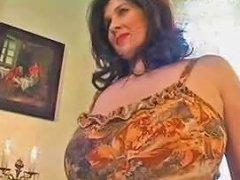 Her Splendid Natural Tits Make Him Horny