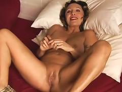 Sexy Cougar Has Kinky Piercings