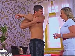 Hungry Mother In Law Amelie Azzure Bangs Hard Touching Friend
