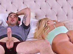 Natasha Starr And Bailey Brooke Sucking Jake Adams Cock