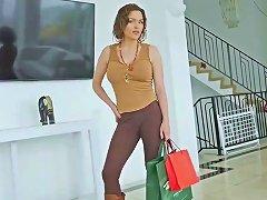 Wet New Mama Krissy Lynn Gives Blowjob Hot Hot Stepson