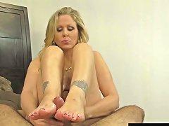 Julia Ann World Famous Milf Strokes Sucks A Cock In