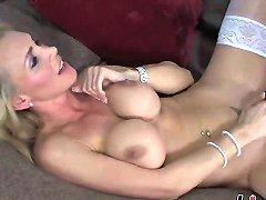 Horny Soccer Mom Bangs A Young Stallion