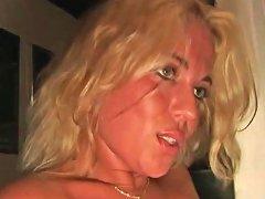 Dutch Blonde In A Dark Room Free In Dutch Porn Video C9