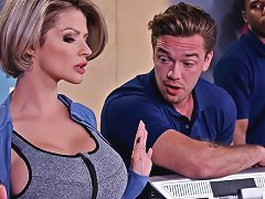 Joslyn James Kyle Mason In Let Me Fuck Your Manager Brazzersnetwork Txxx Com
