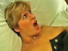 Stockings Mom Has A Craving For Big Cock