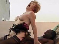 Lusty Granny Goes Black Tubepornclassic Com