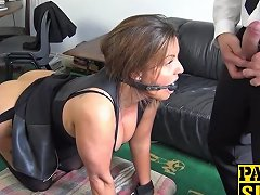Big Titted Milf Sienna Hudson Gets Her Throat And Cunt Fucke
