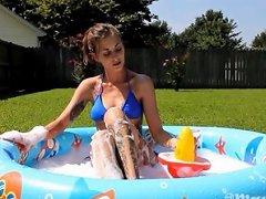Summer Outdoor Fun Dildo Fun Joi
