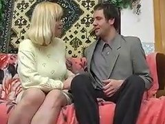 Russian Mature Housewife Seduced A Young Lodger