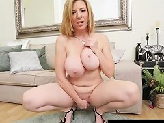 Hot Milf Sara Jay Sticks Her Fingers In Her Pussy Amp Squirts