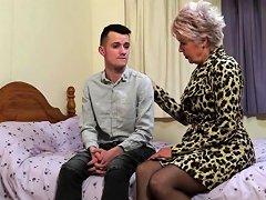 British Mature Slut Lady Sextasy Doing Her Toyboy Nuvid