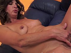 European Mature Spoon Fucked After Blowjob