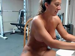 Very Hot Female Milf Muscle Squirt