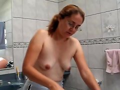 Shy Wife At Home