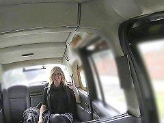 Busty Brit Taxi MILF Fucked Through Sluthatch