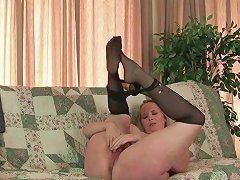 Mom's New Pantyhose Gets Her All Hot And Horny Hd Porn Ee